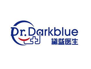 黛蓝医生医疗logo