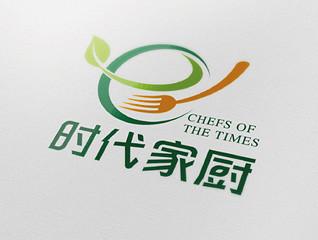 时代家厨logo设计