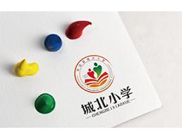 城北小学logo