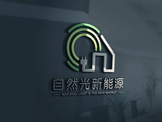 自然光新能源logo