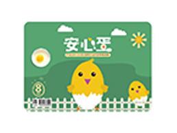 土鸡蛋标签设计