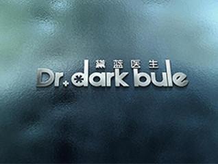 黛蓝医生康复医疗logo