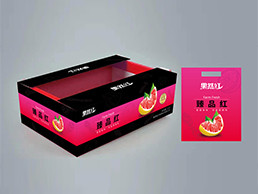 果然红柚子包装设计