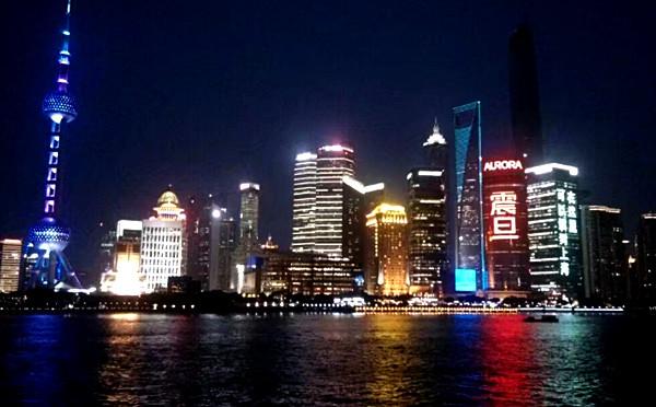 繁华深处的—上海外滩