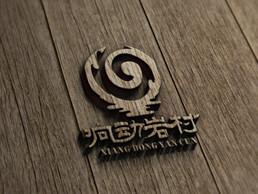 响动岩村logo设计