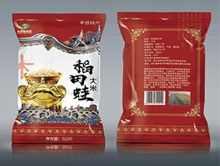 稻田娃大米包装设计