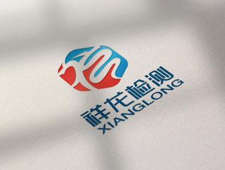 祥龙检测logo设计