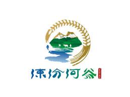 涑汾河谷农田logo设计