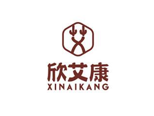 欣艾康logo设计