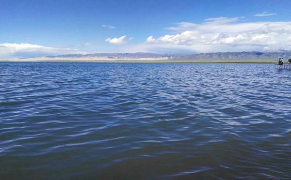 """""""蓝色的海洋""""——青海湖"""
