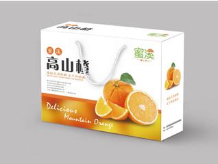【水果包装】脐橙包装设计