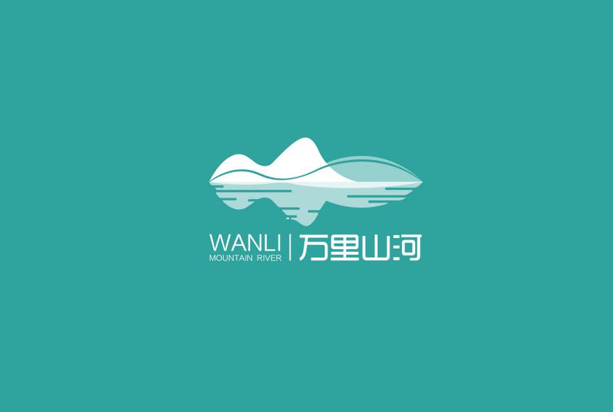 矿泉水=万里山河logo+包装