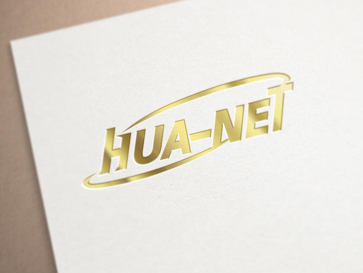 HUA-NET logo設計