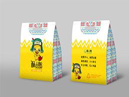 麻辣鴨貨卡通包裝設計