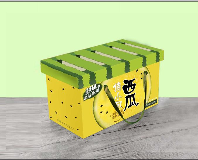 【西瓜包装】特小凤西瓜包装箱