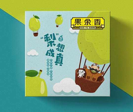【水果 策划】果余香LOGO及品牌命名