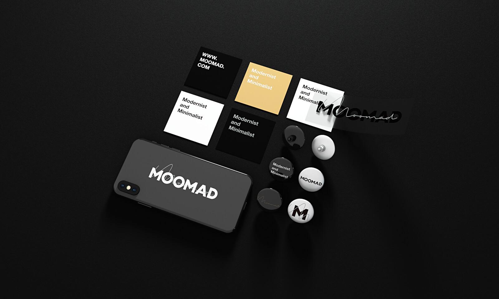 作品来自:MOOMAD · 魔美设计