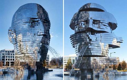 """艺术喷泉VS""""不正经""""喷泉,谁是公共空间的主角?"""