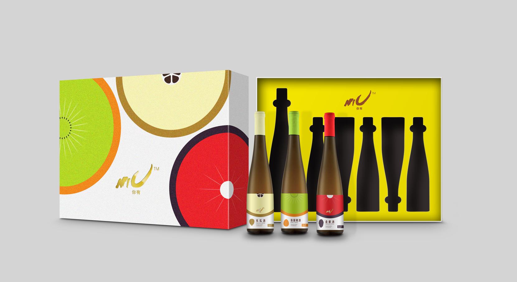 果酒全套包装设计