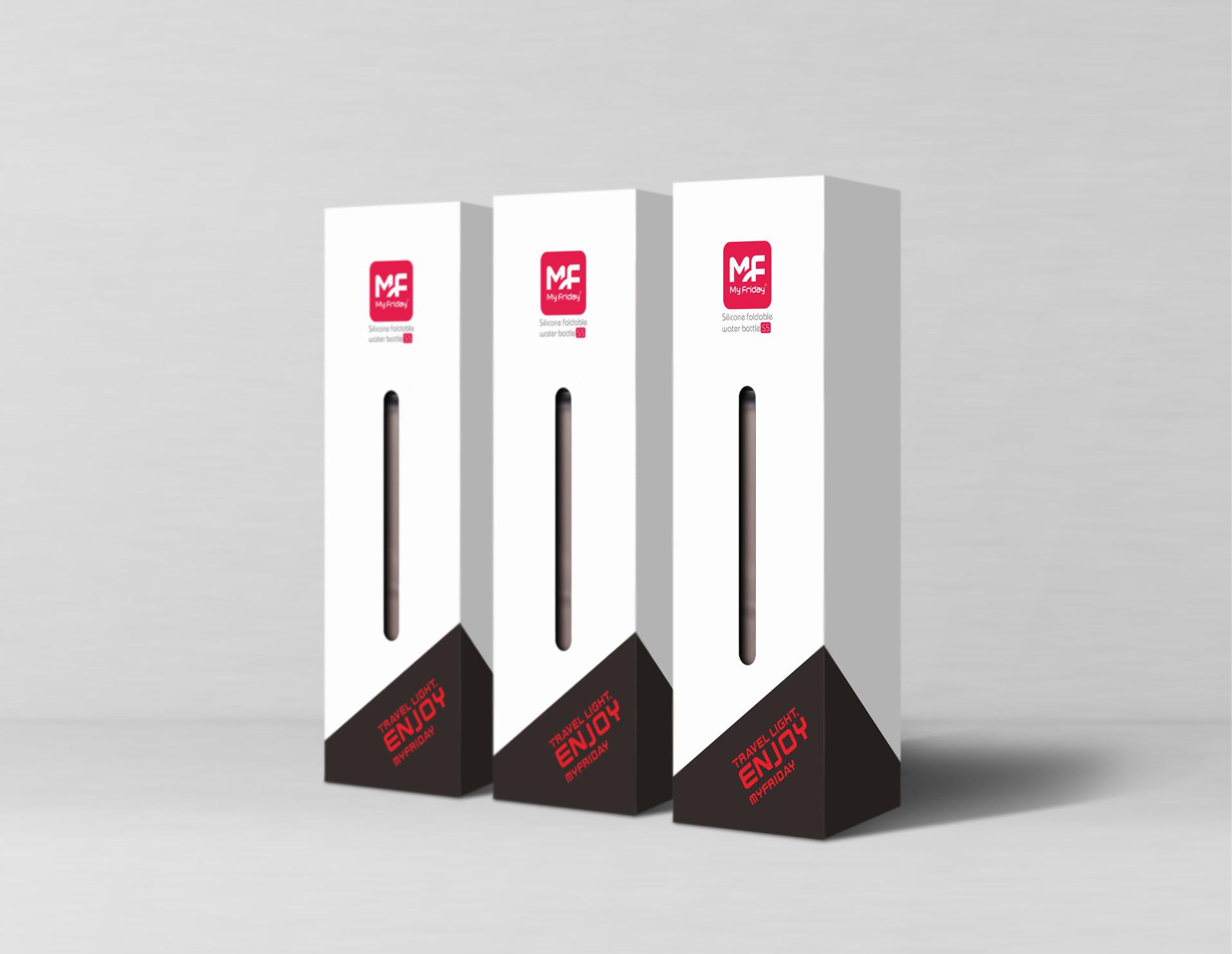 品牌运动便携杯子包装设计
