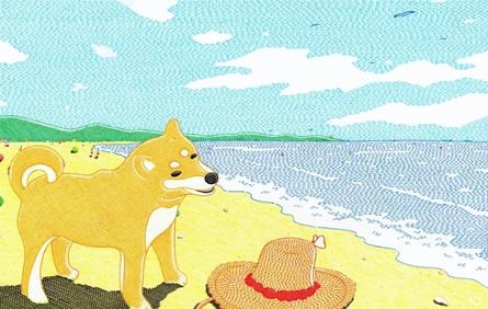 他筆下的清涼夏天,深呼吸——是海浪的香氣!