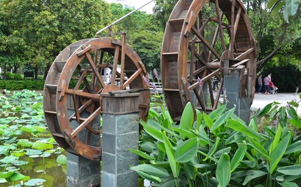 农业系列:水车与翻车