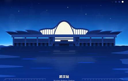 中國33座城市的高鐵站,都是一張爆美的扁平風海報!