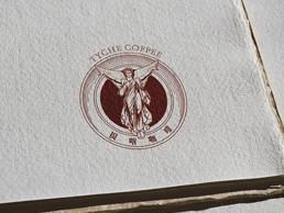 提喀女神咖啡logo