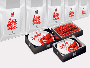 小龙虾包装设计