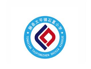 藤县太平镇石夏小学校徽