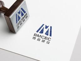 博眉建设公司logo
