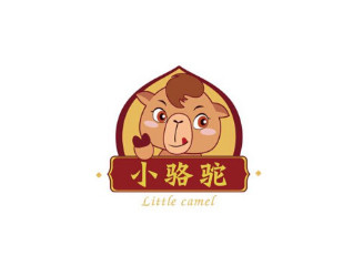 【零食坚果】小骆驼logo