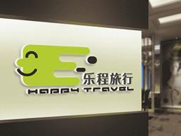 樂程國際旅游logo設計