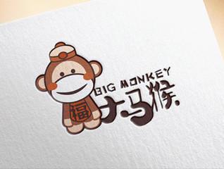 大马猴坚果品牌logo