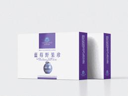 自然蓝品牌蓝莓包装