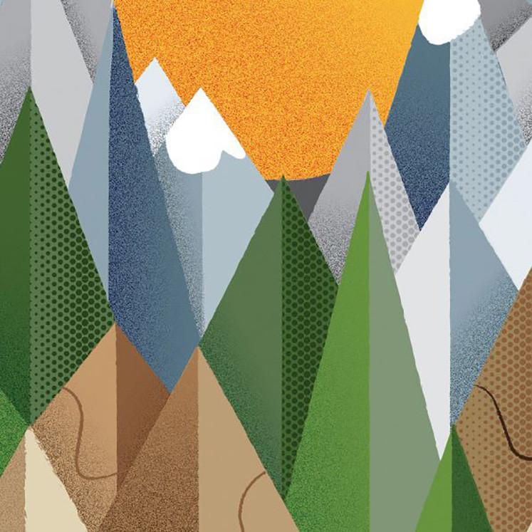 《计算机艺术》杂志教程图片,展示了纹理如何增加层次感