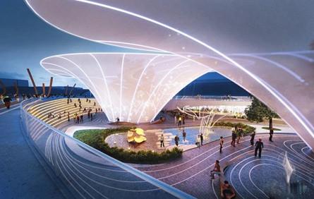 一个特色的公园设计方案,学习了!!