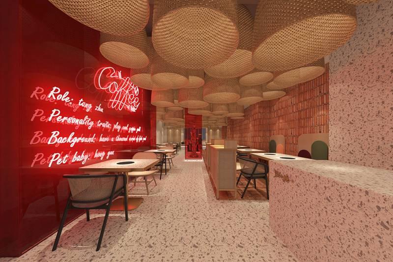 青岛料理店设计