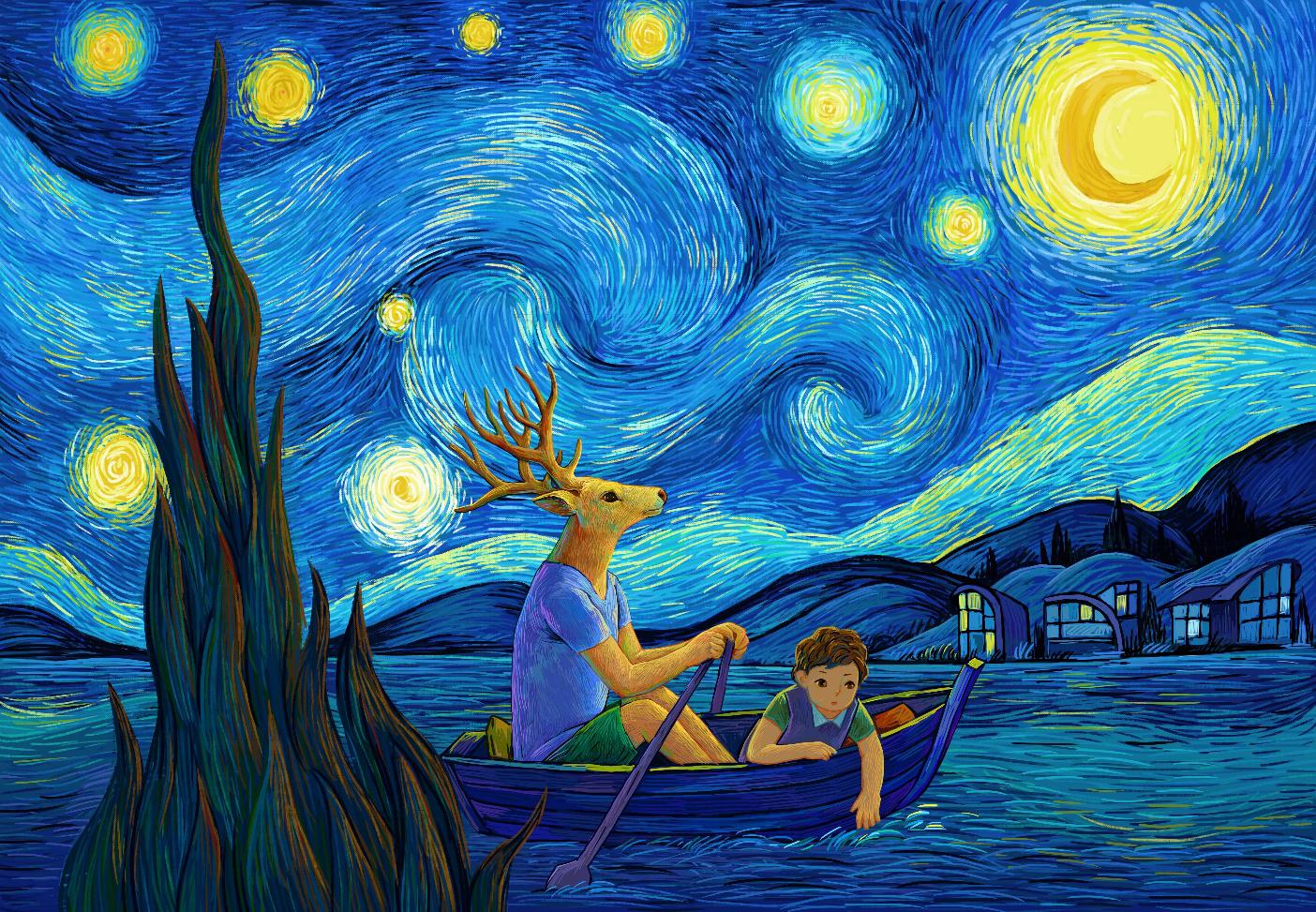 麓视觉版《星月夜》