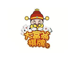 大富翁棋牌馆卡通形象设计