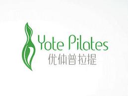優體普拉提logo設計