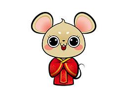 卡通老鼠形象设计