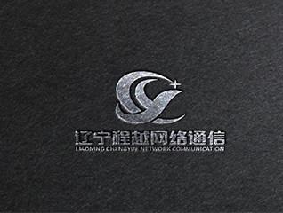 遼寧程越網絡通信logo設計
