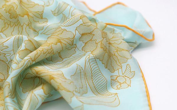 秀蘭文化園 | 文創小方巾| Qidesign X