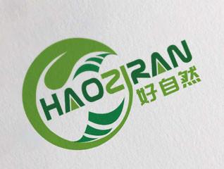 簡約好自然農業品牌logo設計
