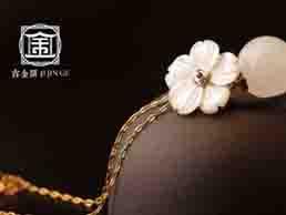 古典中式吉金閣珠寶行業LOGO設計