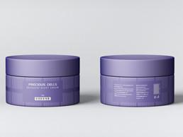 高端極簡系列12款化妝品護膚品品牌包裝標貼設計