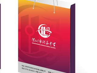 大气教育行业深圳龙华中学VI设计