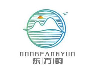 新中式东方韵装饰画建筑装饰行业LOGO设计