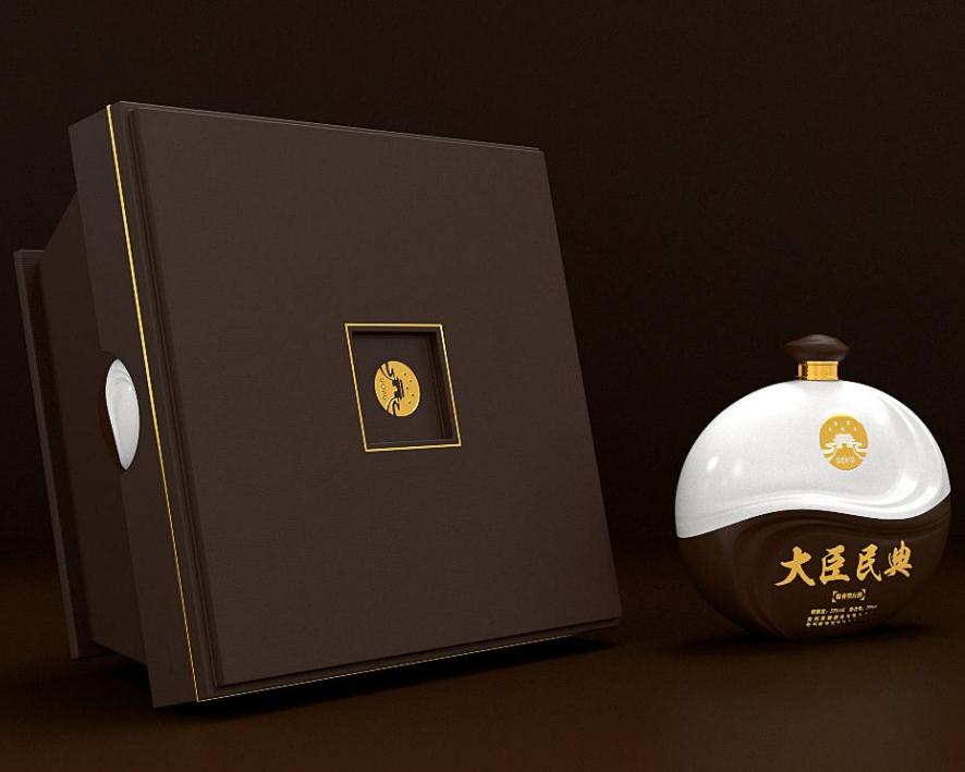 白酒——瓶型 瓶貼 禮盒 LOGO  策劃
